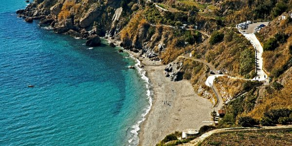 best beach nerja